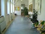 Campus Hallway
