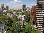 View of Buenos Aires from Universidad de Belgrano